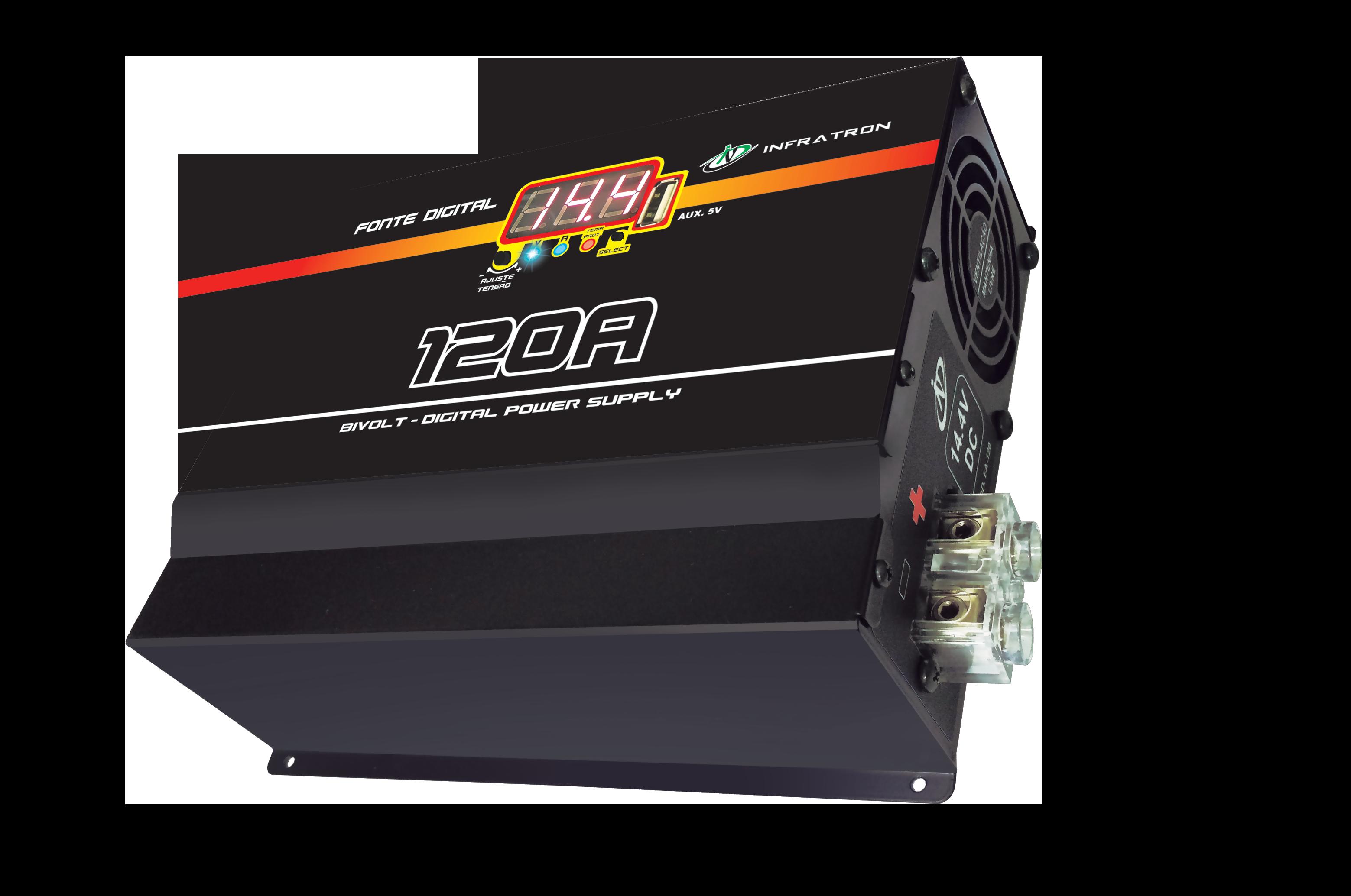 Infratron - Caixa Fonte 120A USB
