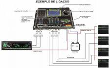 processador esquema de ligação