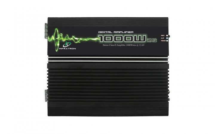 Amplificador Digital Classe D INF-1000WP2